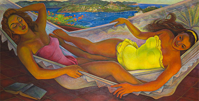 The Hammock Diego Rivera